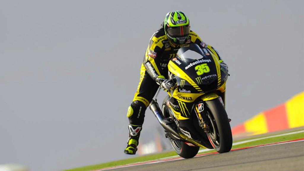 Cal Crutchlow, Monster Yamaha Tech 3, MotorLand Aragón QP