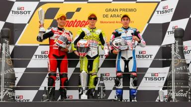 Zarco, Terol, Viñales, Avant-AirAsia-Ajo, Bankia Aspar Team 125cc, Blusens by Paris Hilton Racing, MotorLand Aragón RAC