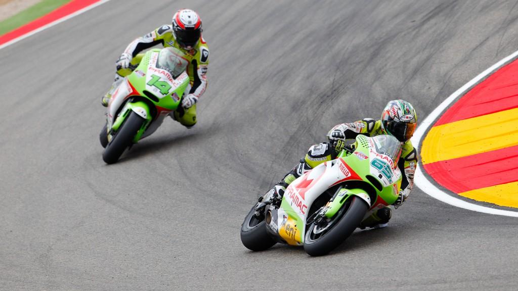 Loris Capirossi, Randy de Puniet, Pramac Racing Team, MotorLand Aragón
