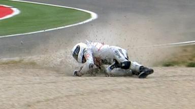 Aragón 2011 - 125cc - Race - Action - Danny Kent - Crash