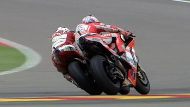 Aragón 2011 - MotoGP - Race - Action - Barbera and Hayden