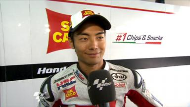 Aragon 2011 - MotoGP - Race - Interview - Hiroshi Aoyama