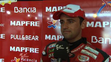 Barbera  in top ten in home GP