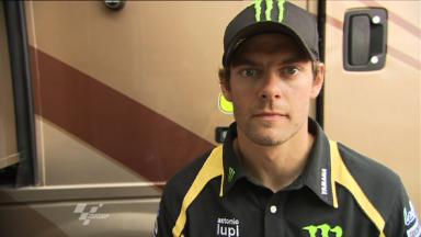 Crutchlow pleased with Aragon display