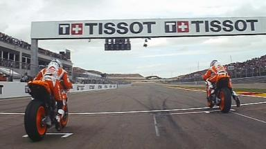 Aragón 2011 - MotoGP - Race - Action - Race start