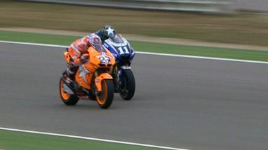Aragón 2011 - MotoGP - Race - Action - Race winning overtake