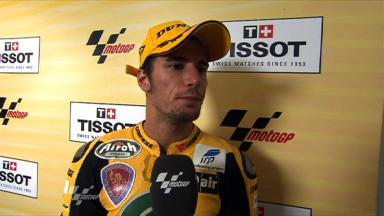 Corsi thrilled to be back on podium