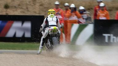 Aragón 2011 - Moto2 - Race - Action - Michele Pirro