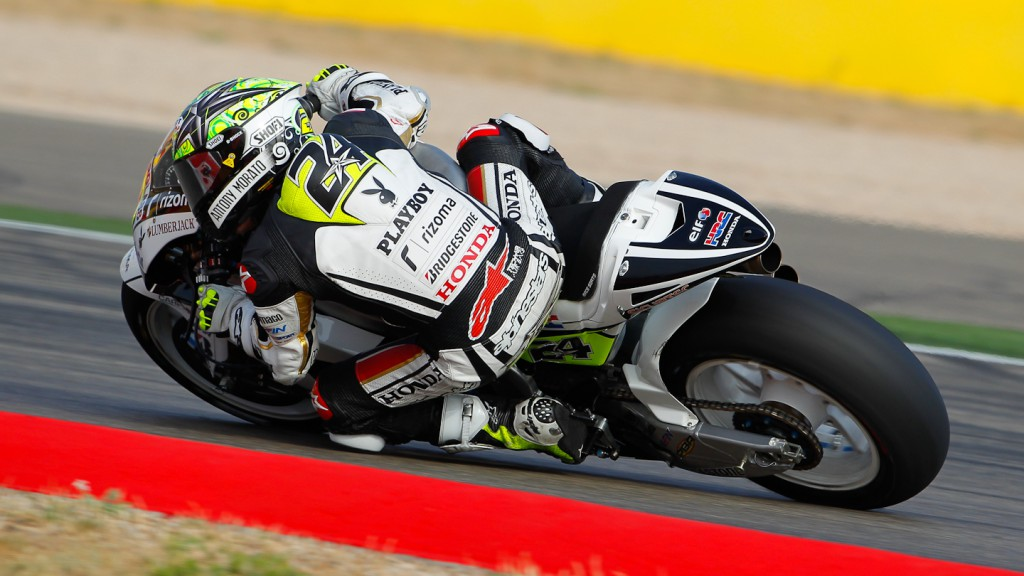 Toni Elias, LCR Honda MotoGP, MotorLand Aragón QP