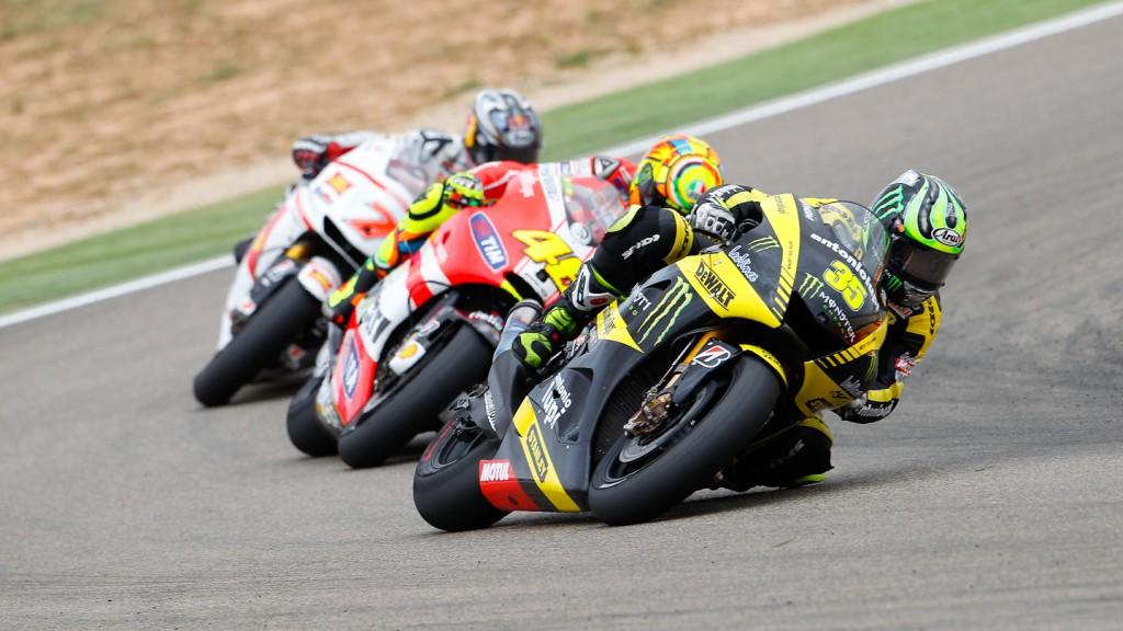 Cal Crutchlow, Monster Yamaha Tech 3, MotorLand Aragón RAC