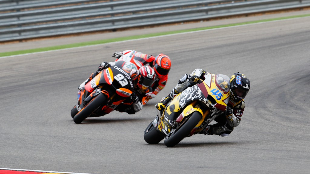Scott Redding, Marc MArquez, Marc VDS Racing Team, Team CatalunyaCaixa Repsol, MotorLand Aragón RAC