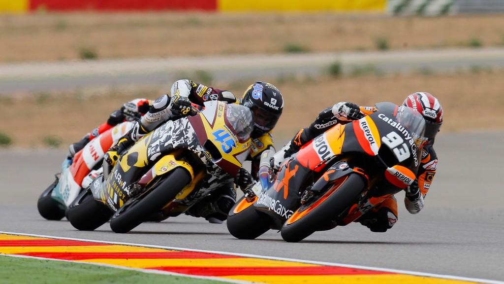 Marc Marquez, SCott Redding, Team CatalunyaCaixa Repsol, MotorLand Aragón RAC