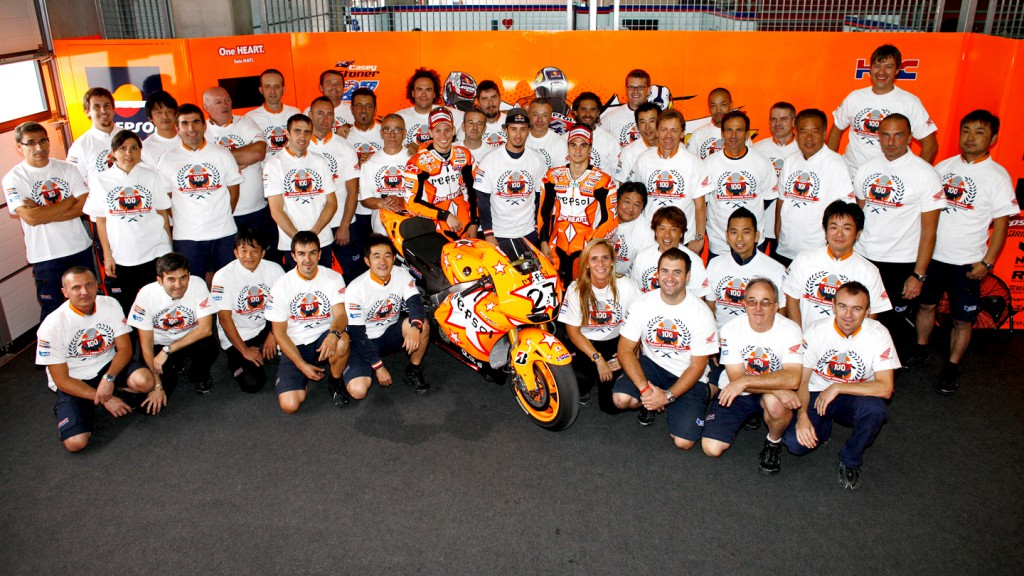 Repsol Honda Team, 100 Victories