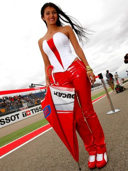 Paddock Girl Gran Premio de Aragón