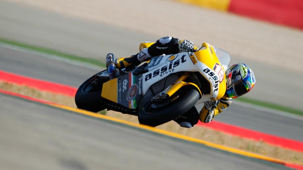 Alex de Angelis, JiR Moto2, MotorLand Aragón QP