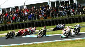 The Ducati Team rider won his home race, the Iveco Australian Grand Prix, for the fourth consecutive year with a clear victory ahead of Jorge Lorenzo and Valentino Rossi at Phillip Island on Sunday.