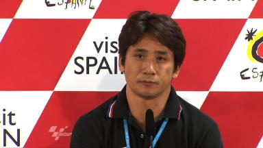 Ito grateful for Motegi opportunity