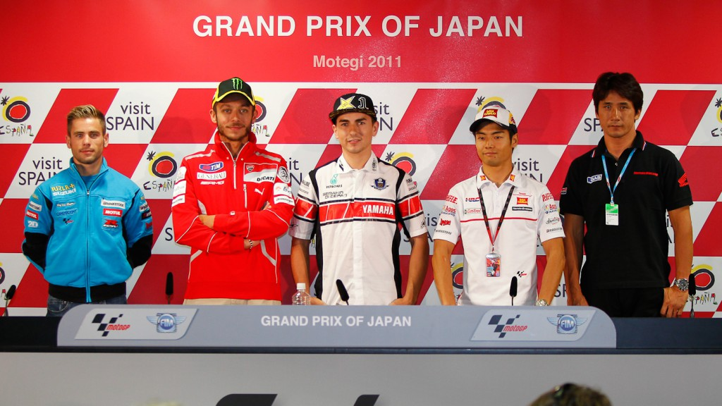 Bautista, Rossi, Lorenzo, Aoyama, Ito, Grand Prix of Japan Press Conference