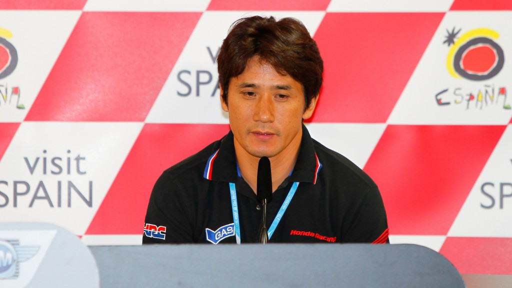 Shinichi Ito, Repsol Honda Team, Grand Prix of Japan Press Conference
