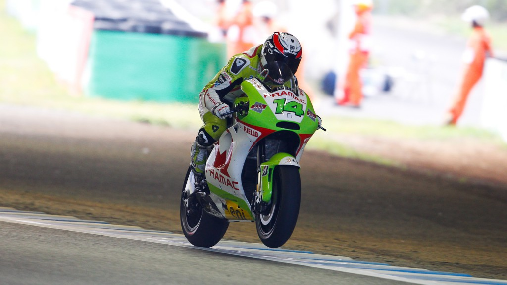 Randy de Puniet, Pramac Racing Team, Motegi FP2
