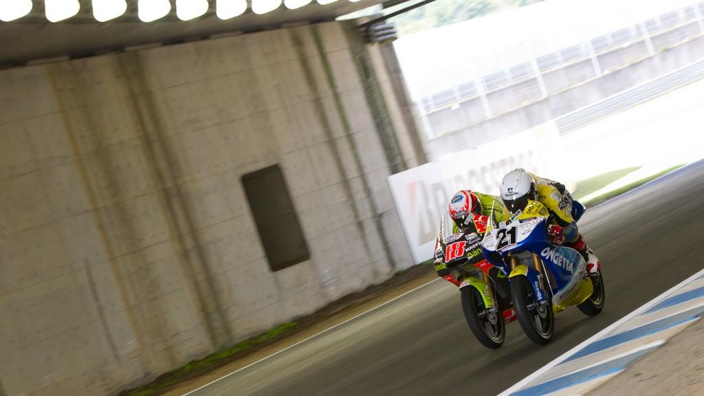 Nico Terol, Harry Stafford, Bankia Aspar Team 125cc, Ongetta-Centro Seta, Motegi FP2