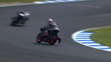 Motegi 2011 - 125cc - FP1 - Action - Danny Webb