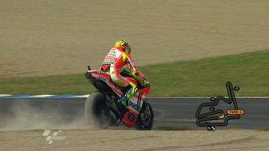 Motegi 2011 - MotoGP - FP2 - Action - Valentino Rossi