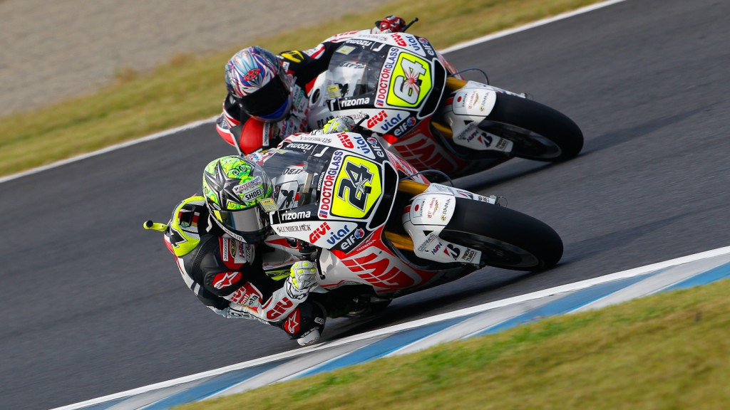 Toni Elias, Kosuke Akiyoshi, LCR Honda MotoGP, Motegi FP2