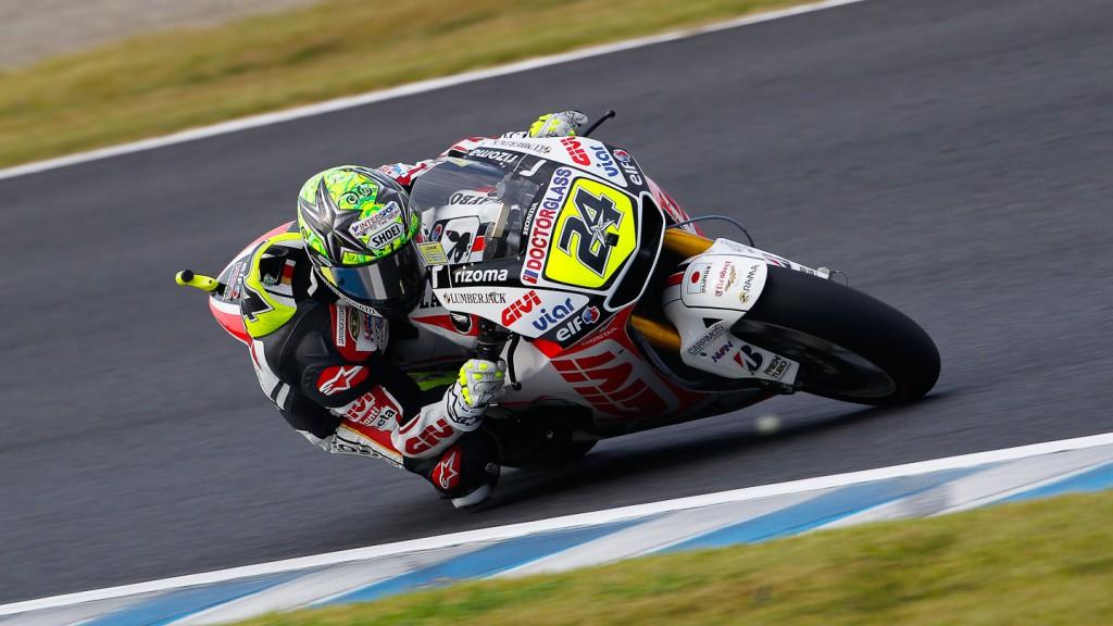 Toni Elias, LCR Honda MotoGP, Motegi FP2