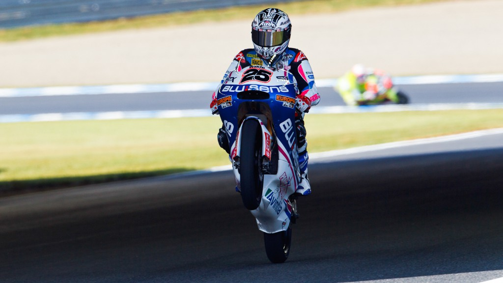 Maverick Viñales, Blusens by Paris Hilton, Motegi FP2