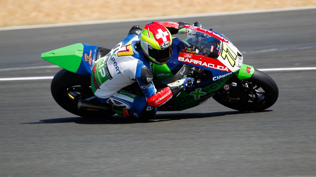 Dominique Aegerter, Technomag-CIP, Motegi FP2