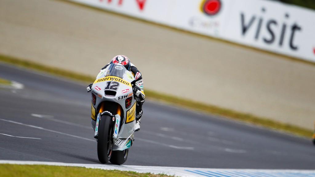 Thomas Luthi, Interwetten Paddock Moto2, Motegi QP