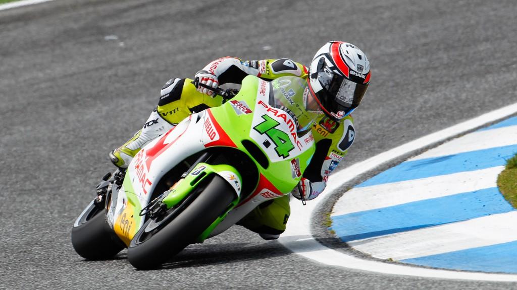 Randy de Puniet, Pramac Racing Team, Motegi QP