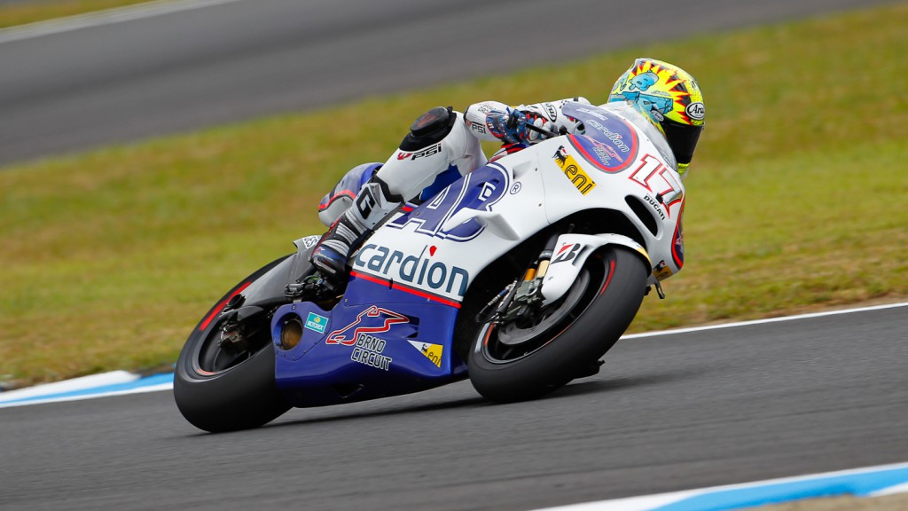 Karel Abraham, Cardion AB Motoracing, Motegi QP