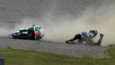 Motegi 2011 - 125cc - QP - Action - Luis Salom - Crash