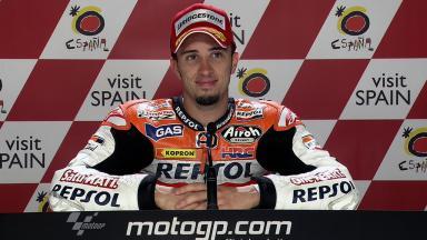 Motegi 2011 - MotoGP - QP - Interview - Andrea Dovizioso