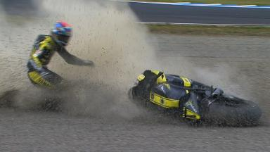 Motegi 2011 - MotoGP - QP - Action - Colin Edwards - Crash