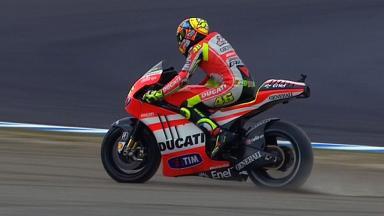 Motegi 2011 - MotoGP - QP - Action - Valentino Rossi