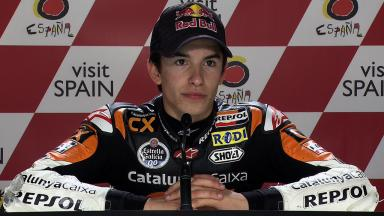 Motegi 2011 - Moto2 - QP - Interview - Marc Marquez