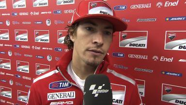 Hayden on top 10 qualifying