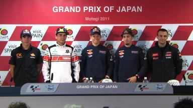 GP of Japan Qualifying Press Conference