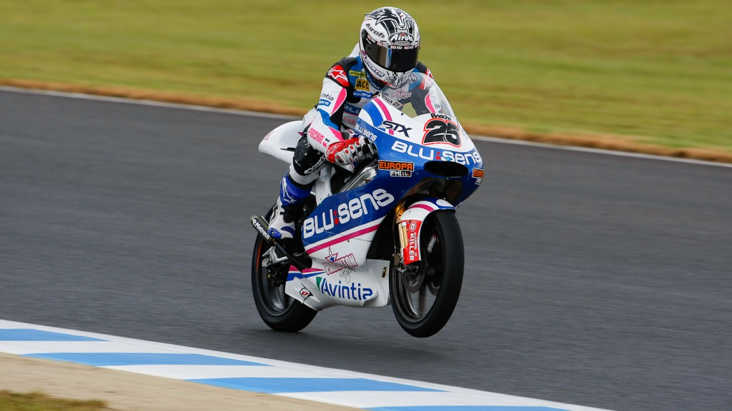 Maverick Viñales, Blusens by Paris Hilton, Motegi QP