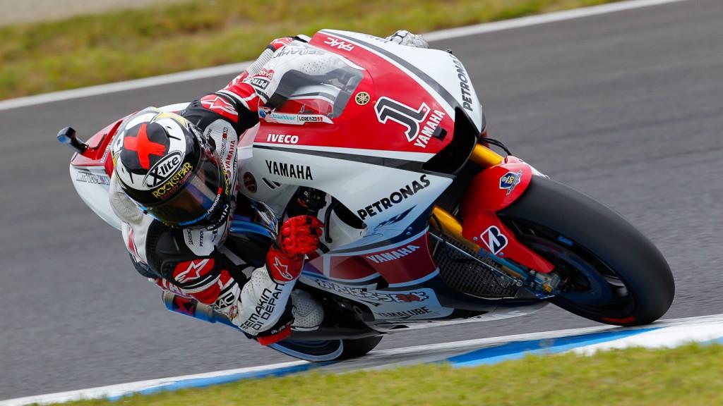 Jorge Lorenzo, Yamaha Factory Racing, Motegi WUP