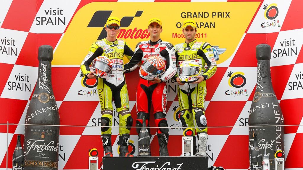 Zarco, Terol, Faubel, Avant-AirAsia-Ajo, Bankia Aspar Team 125cc, Motegi RAC