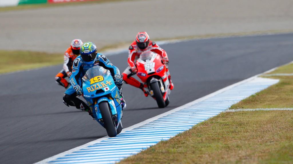 Alvaro Bautista, Rizla Suzuki MotoGP, Motegi RAC