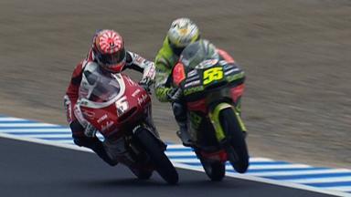 Motegi 2011 - 125cc - Race - Action - Faubel and Zarco