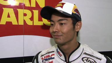 Aoyama ninth in home GP