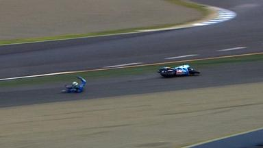 Motegi 2011 - MotoGP - Race - Action - Alvaro Bautista - Crash