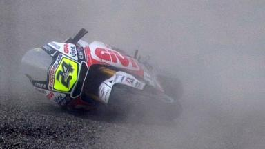Motegi 2011 - MotoGP - Race - Action - Toni Elias - Crash