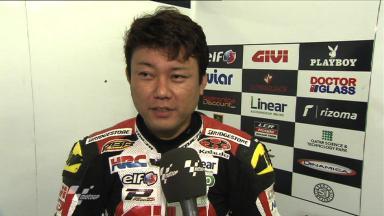 Motegi 2011 - MotoGP - Race - Interview - Kousuke Akiyoshi